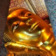 Bangkok, Thailand: Wat Pho Reclining Buddha — Stock Photo