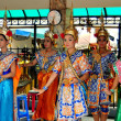 Bangkok, Thailand: Dancers at Erawan Shrine — Stock Photo #36056733