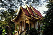 Chiang Mai, Thailand: Vihan Prayer Hall at Wat Ched Yod — Stock Photo