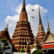 Bangkok, Thailand:  Chedis at Wat Pho — Stock Photo