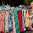Stock Photo: Bangkok, Thailand: Western Tourist Shopping on Khao SRoad