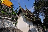 Chiang Mai, Thailand: Vihan Hall at Wat Pan Whaen — Stock Photo