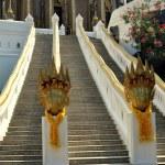 Saraburi,Thailand: Wat Phra Phutthabat Triple Staircase — Stock Photo