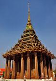 Saraburi, thailand: mondorp am wat phra phutthabat — Stockfoto