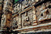 Chiang Mai, Thailand: Bas Relief Stucco Hindu Figures at Wat Ched Yod — Stock Photo