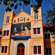 Bangkok, Thailand:  Church School at Wat Boworniwet — Stock Photo
