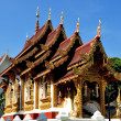 Stock Photo: Chiang Mai, Thailand: VihHall at Wat HuKuang