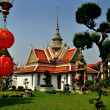 Stock Photo: Bangkok, Thailand: Wat Arun Monastic Quarter