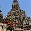Bangkok, Thailand:  Towering Central Prang at Wat Arun — Stock Photo