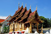 Chiang Mai, Thailand: Vihan Hall at Wat Hua Kuang — Stock Photo