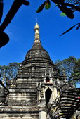 Chiang Mai, Thailand: Chedi at Wat Pa Pao — Stock Photo