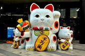 Bangkok, Thailand: Hello Kitty Artwork at Gateway Shopping Center — Stock Photo