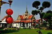 Bangkok, Thailand: Wat Arun Monastic Quarter — Stock Photo