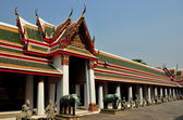 Bangkok, Thailand: Monastic Quarter at Wat Arun — Stock Photo