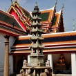 Bangkok, Thailand: Stone Pagoda at Wat Pho — Stock Photo