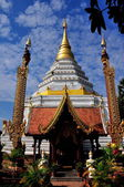 Chiang Mai, Thailand: Chedi at Wat Chang Yuen — Stock Photo