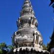 Chiang Mai, Thailand:  Chedi at Wat Ku Tao — Stock Photo