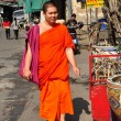 Chiang Mai, Thailand:  Monk at Pung Tao Gong Ancestral Temple — Stock Photo