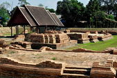 Chiang Mai, Thailand: Wat Ku Padom Excavations — Stock Photo