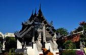 Chiang Mai, Thailand: Vihan Hall at Wat Chedi Luang — Stock Photo