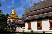 Chiang Mai, Thailand: Wat Chiang Mun — Stock Photo