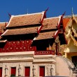 Chiang Mai, Thailand: Wat Phra Singh Repository Library — Stock Photo
