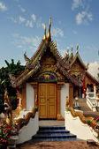 Chiang Mai,Thailand: Vihan Hall at Wat Pan Ping — Stockfoto
