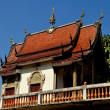 Stock Photo: Chiang Mai, Thailand: Library at Wat FHan