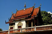 Chiang Mai, Thailand: Library at Wat Fa Han — Stock Photo