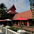 Stock Photo: Chiang Mai, Thailand: Monastic Buildings at Wat Jet Lin