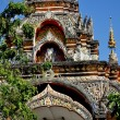 Chiang Mai, Thailand:  Gateway to Wat Nantaram — Stock Photo
