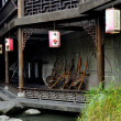 Stock Photo: Chengdu, China: Old SichuHouses on Jin Li Street