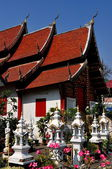 Chiang Mai, Thailand: Vihan Hall at Wat Mun Toh — Stock Photo