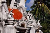 Chiang Mai, Thailand: Pagoda at Wat Nantaran — Stock Photo