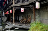 Chengdu, China: Old Sichuan Houses on Jin Li Street — Stock Photo