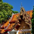 Chiang Mai, Thailand:  Shrine at Wat Doi Suthep — Stock Photo