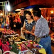Chiang Mai, Thailand: People Shopping for Handicrafts — Stock Photo #36752477