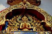 Chiang Mai, Thailand: Praying Aponsi Figure at Wat Sut-Prat-Ta-Na — Stock Photo