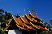 Chiang Mai, Thailand: Vihan at Wat Nantaram — Stock Photo