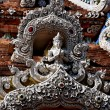 Chiang Mai, Thailand: Carved Gatewy at Wat Lok Molee — Stock Photo