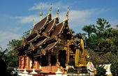 Chiang Mai, Thailand: Vihan Hall at Wat Chedi Liem — Stock Photo
