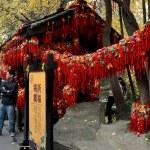 Chengdu, China: Good Luck Wishing Charms at Jin Li Street Shop — Stock Photo
