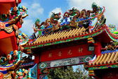 Chiang Mai, T'hailand: Gateway at Pung Tao Gong Ancestral Chinese Temple — Stock Photo