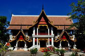Chiang Mai, Thailand: The Library at Wat Chiang Mun — Stock Photo