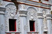 Chiang Mai, Thailand: Bas Relief Vihan Hall Decorations at Wat Changkam — Stock Photo