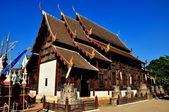 Chiang Mai, Thailand: Vihara Hall at Wat Phan Tao — Stock Photo