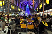 Chiang Mai, Thailand: Night Bazaar Restaurant — Stock Photo