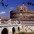 Rome, Italy: Castel Sant' Angelo Fortress — Stock Photo