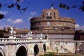 Rome, Italy: Castel Sant' Angelo Fortress — Stock Photo