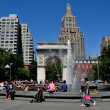 NYC:  Washington Square and Memorial Arch — Stock Photo